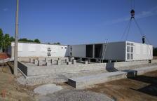 El instituto de Alpicat, construido en 10 horas tras 10 años reclamándolo