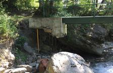 Bagergue adjudica els treballs de reparació del pont de Pava