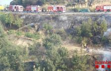 Els incendis de Torrefeta i Preixana cremen 22 ha