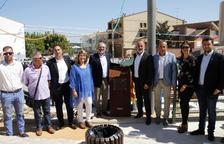 Inaugurada la mejora de la plaza Montull de Soses