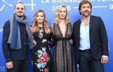 Jennifer Lawrence, Pfeiffer y Bardem estrenan en la Mostra