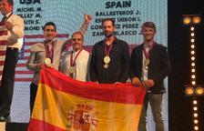 Iván Espílez, bronze al Mundial de recorreguts de tir