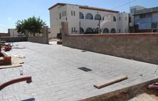 Golmés ultima la construcción de un pasaje peatonal de acceso al colegio
