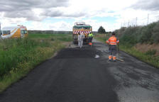 Campanya per a la millora de camins a Alcarràs