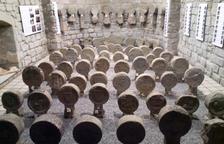 Abre al público la colección de estelas de los siglos XIV al XIX de Sanaüja