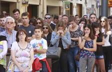 Les Borges acomiada amb emoció i ràbia l'última víctima mortal de la polèmica N-240