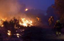 Més de 500 veïns de Riotinto afectats per un nou incendi forestal