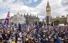 Londres sale a la calle para pedir continuar en la UE