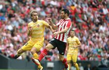 Muniain y Aduriz baten a un buen Girona y colocan cuarto al Athletic