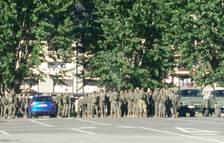 Maniobres de prop de 300 militars al Pla de Beret