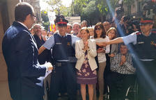 Marc Solsona, a la sortida de la Fiscalia