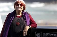 Agnès Varda reivindica en San Sebastián el cine con sentido y no solo con dinero