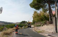 Fomento acaba los desagües de la autovía A-14 en Torrefarrera
