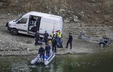 Els cossos trobats a Susqueda, nus i amb signes de violència
