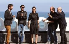 El director Borja Cobeaga presenta 'Fe de etarras' en el Festival de San Sebastián