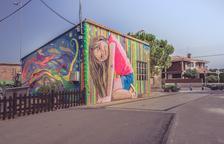 Arumí gana el premio del público del Torrefarrera Street Art Festival