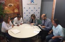 La Caixa finança un projecte d'inserció de Talma a Juneda