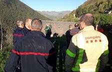 Els Pompièrs d'Aran, en una trobada a França