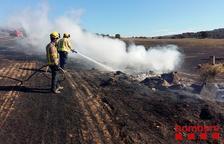Un incendio calcina 8,6 hectáreas en Massoteres
