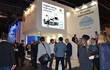 Estand del Lleida.net al Mobile World Congress.