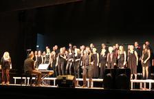 Cant a la llibertat de l'Orfeó Lleidatà a Alcoletge