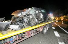 El fallecido en La Sentiu es un vecino de Térmens y un motorista, herido en Alcarràs