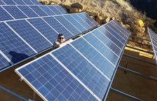 Placas fotovoltaicas para el suministro de Mas Blanch