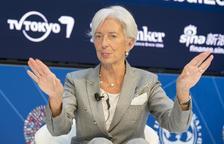 """Lagarde reclama acabar amb """"la incertesa"""" política a Catalunya"""
