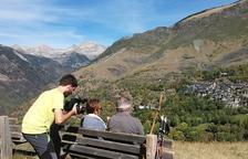La vall de Boí grava un vídeo de la temporada turística de tardor
