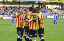 El Lleida empata a Alcoi (1-1) amb la samarreta de la senyera