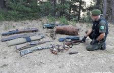 Multes de fins a 10.000 € a sis furtius a l'Alt Urgell