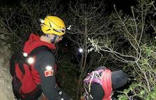 Rescaten dos grups que feien escalada al desorientar-se a Àger