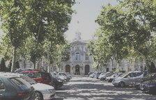 Façana principal del Tribunal Suprem.
