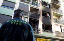 Dos morts, nou ferits i uns 40 desallotjats en l'incendi d'un habitatge de Burriana