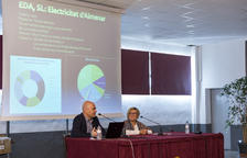 Almenar presenta l'empresa que comercialitza l'electricitat