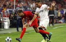 El Sevilla s'atansa a vuitens i es refà de la golejada a Moscou