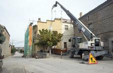 Obres per renovar la teulada del local social i Museu de la Pagesia de Sisteró
