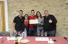 El Tastavins de Juneda recapta 700 euros per a un vi solidari