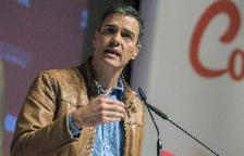 Pedro Sánchez proclama que la solució al problema català no està en la via penal