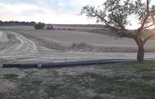 Agua del canal de Algerri para la perrera, el matadero y el cementerio de Balaguer