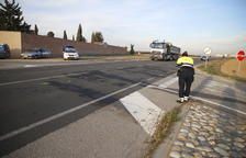 Dos heridos en un choque de dos coches en la C-12 en Menàrguens