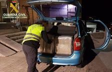 Intervinguts 13.000 euros en tabac de contraban a Organyà