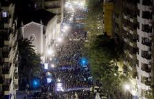 Multitudinària marxa a València pel finançament