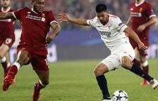 Empat èpic del Sevilla, que al descans perdia 0-3 contra el Liverpool