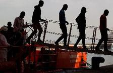 Rescatadas este domingo 106 inmigrantes en el mar de Alborán