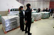Incautadas casi seis toneladas de cocaína
