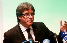 Puigdemont dice que España ha retirado euroorden