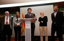 """Puigdemont atribuye la retirada de la euroorden al """"miedo al ridículo"""""""