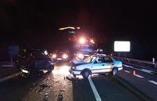 Una conductora salva la vida al caure al riu amb el cotxe al Pallars