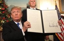 Trump desencadena la ira en el món musulmà al reconèixer Jerusalem com la capital d'Israel